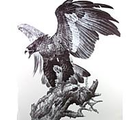PC 1 águila impermeable pegatinas patrón respaldo del tatuaje