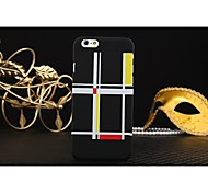 Checkered Series 4.7 CunShui Checkered Mobile Phone Case Protection Shell for iPhone 6
