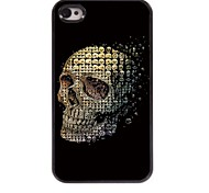 Skulls Pattern Aluminum Hard Case for iPhone 4/4S