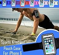 GYM Running Arm Band Waterproof Nylon Full Body Phone Bags Case for iPhone 6 (Assorted Colors)