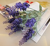 Silk / Plastic Lavender Artificial Flowers
