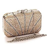 Moonflower Women's Elegant Diamante Pendant Party Bag More Colors