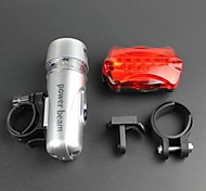 Front Lights+Tail Lights Kits Ultra High Performance of The Combination of Front and Rear Lights Bike 2PCS