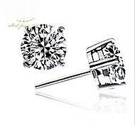 Women's Fine Jewelry 925 Sterling Silver Earring Stud One Pair