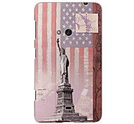 The Statue of Liberty Design Hard Case for Nokia N625