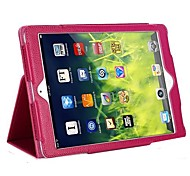 Fashion Solid Color Thin PU leather with Stand Automatic Sleep and Wake for iPad 6/Air 2 (various colors)