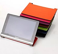 10.1 Inch High Quality PU Leather Case for Lenovo YOGA 2 1050F(Assorted Colors)