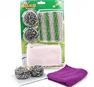 Kitchen Cleaning Cloth Cleaning Ball Set