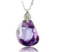 оптовая торговля модной одеждой циркон ожерелье случайный цвет