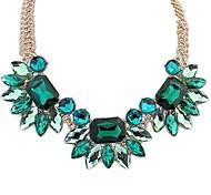 Frauen neue bunte Stein Halskette