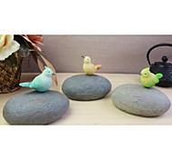 Pastoralism Rotating Stone & Birds Music Box