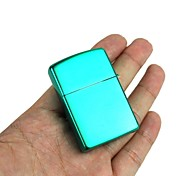 Brilliance Green Plated Oil Lighters