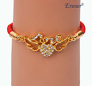 Eruner®Fashion Zircon Angel wings Alloy Handmade Bracelets