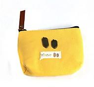 Lovely Cloth Zipper Handbag Wallet
