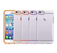 Transparent Hard PC Cover Case for iPhone 6 (Assorted color)