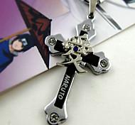 Naruto Gaara Cross Necklace