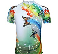 JESOCYCLING® Cycling Jersey Women's Short Sleeve Bike Breathable / Quick Dry Jersey / Tops Polyester Cartoon Spring / Summer Cycling/Bike