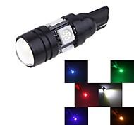 t10 w5w 192 194 168 LED-Autolicht Autoseite keil Lampe 5050 SMD mit Projektor Objektiv-Licht