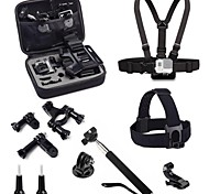 5 in 1 Accessory Kits with M Size Bag for Gopro Camera