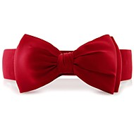 Women's Chiffon Bowknot Wide Belt