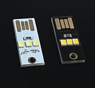 ultra-kleine ultra-dünne Mini-USB-Tastatur Lampe Lampe Bewegung Energie für Arduino (2 Stück)