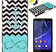 For Sony Case / Xperia Z3 Pattern Case Back Cover Case Anchor Hard PC for SonySony Xperia Z3 / Sony Xperia Z3 Compact / Sony Xperia Z2 /