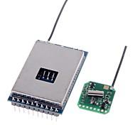 2.4G 600M Wireless AV Transmitter Module+2.4G Video AV Receiver Set for FPV