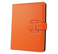 Solid Color High Quality PU Leather Full Body Case for iPad Air 2 (Assorted Colors)