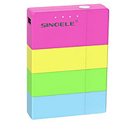 SINOELE Magic 10400mAh External Battery for iphone6/6plus/5S Samsung S4/5 HTC and other Mobile Devices