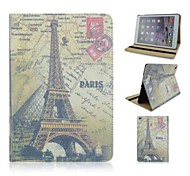 Retro Eiffel Tower Pattern Leather Cases for iPad Air 2