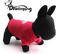 droolingdog® Lutscher vorhanden Muster Baumwolle T-Shirt für Hunde (verschiedene Größen)