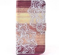 Full Body Wallet / Card Holder / with Stand Mandala PU Leather Hard Case Cover For Huawei G620s