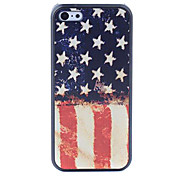 US Flag Style Protective Back Case for iPhone 5C