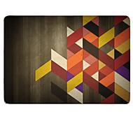 """Case for Macbook Pro 13.3""""/15.4"""" with Retina display Geometric Pattern Plastic Material The Wooden Lattice Design Full-Body Protective Plastic Case"""