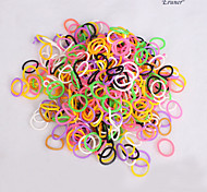 BaoGuang®100pcs Rainbow Color Loom Pearl Fashion Loom Rubber Bands