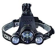 CREE T6+2*R5 LED Headlight Lamp Night Ride Bicycle Lights Outdoor Headlamp