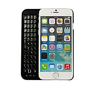 Bluetooth caso wireless back-luz ultra-fino teclado 3.0 para o iPhone 6
