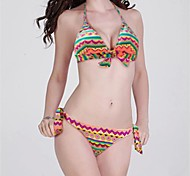 mode sexy indien impression arc triangle bikini ensemble maillots de bain maillot de bain maillot de bain biquini des femmes