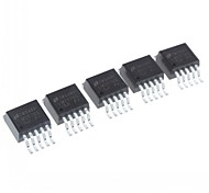 5pcs SMD-a 263-6 circuito lm2576s-5.0 Regulador (buck)