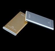 GOLF G100 10000mAh Ultra-thin External Battery for iphone6/6plus/5S Samsung S4/Blackberry and other Mobile Devices