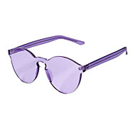 100% caminante plástico UV400 gafas de sol retro