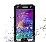 New Perfect Designed Shockproof Waterproof Hard Case for Samsung Note4/N9100(Assorted Colors)