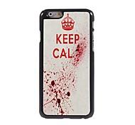 Keep Calm Design Aluminum Case for iPhone 6