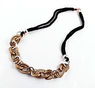 Fashion CCB Chain Necklaces Random Color