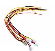 DIY XH2.54 - 3P 20cm Wire Cable (5pcs)