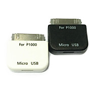 Micro USB Female to 30 Pin Adapter for Samsung Galaxy Tab P1000 7500 7510