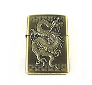 Creative Cool Dragon Pattern Oil Lighter