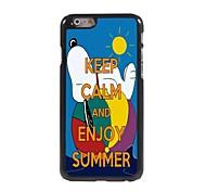 Keep Calm and Enjoy Summer Design Aluminum Case for iPhone 6