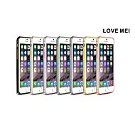 Love Mei Ultrathin Alloy Bumper Curved Edge Metal Case Cover for iPhone 6 (Assorted Color)