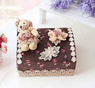 South Korean Princess Lace Cloth Cosmetics Box